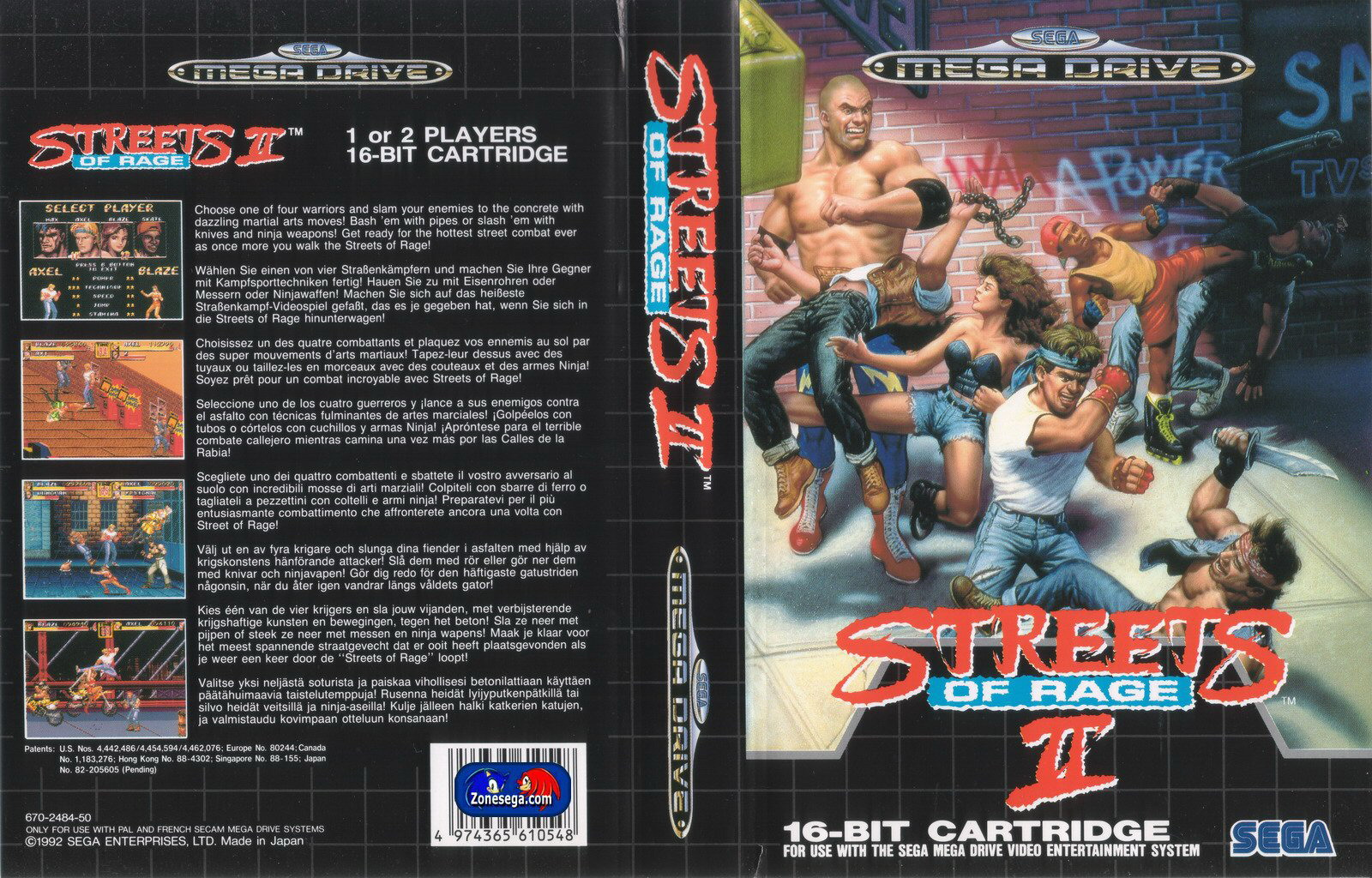 Streets Of Rage 2 (Bare K...