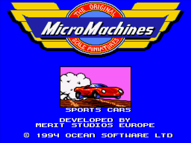 Micro Machines - Turbo To...