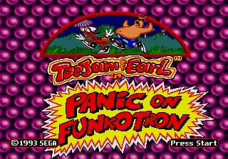 ToeJam & Earl In Panic On...