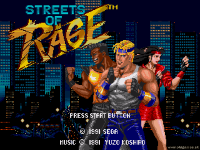 Streets Of Rage (Bare Knu...