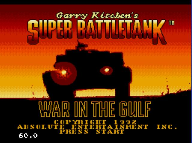 Super Battle Tank - War I...