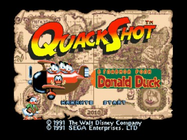 Quack Shot Starring Donald Duck