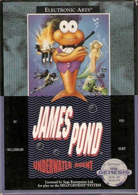 James Pond - Underwater A...