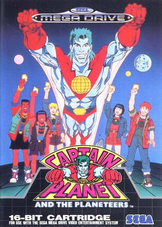 постер Captain Planet and the Planeteers