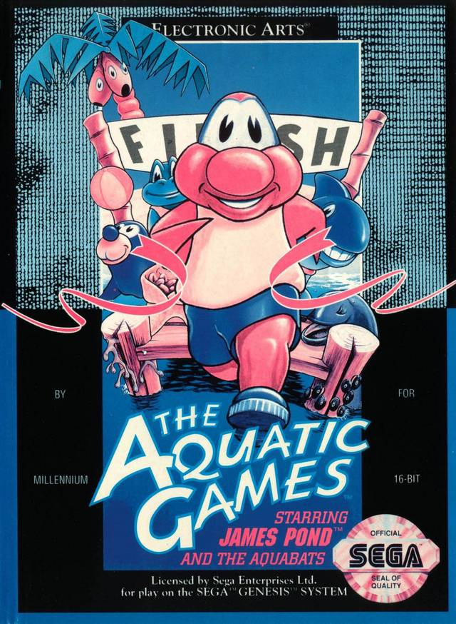 постер Aquatic Games