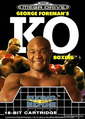 постер George Foreman's Knock-out Boxing