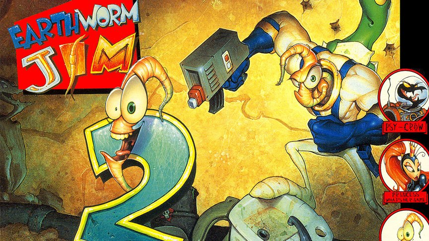 Earthworm Jim 2 / Червяк ...