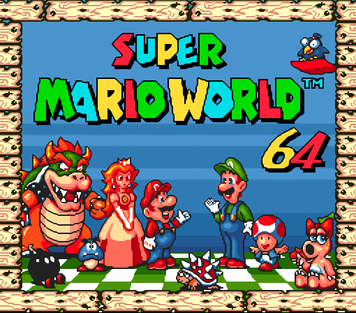постер Супер Марио (Super Mario World 64)