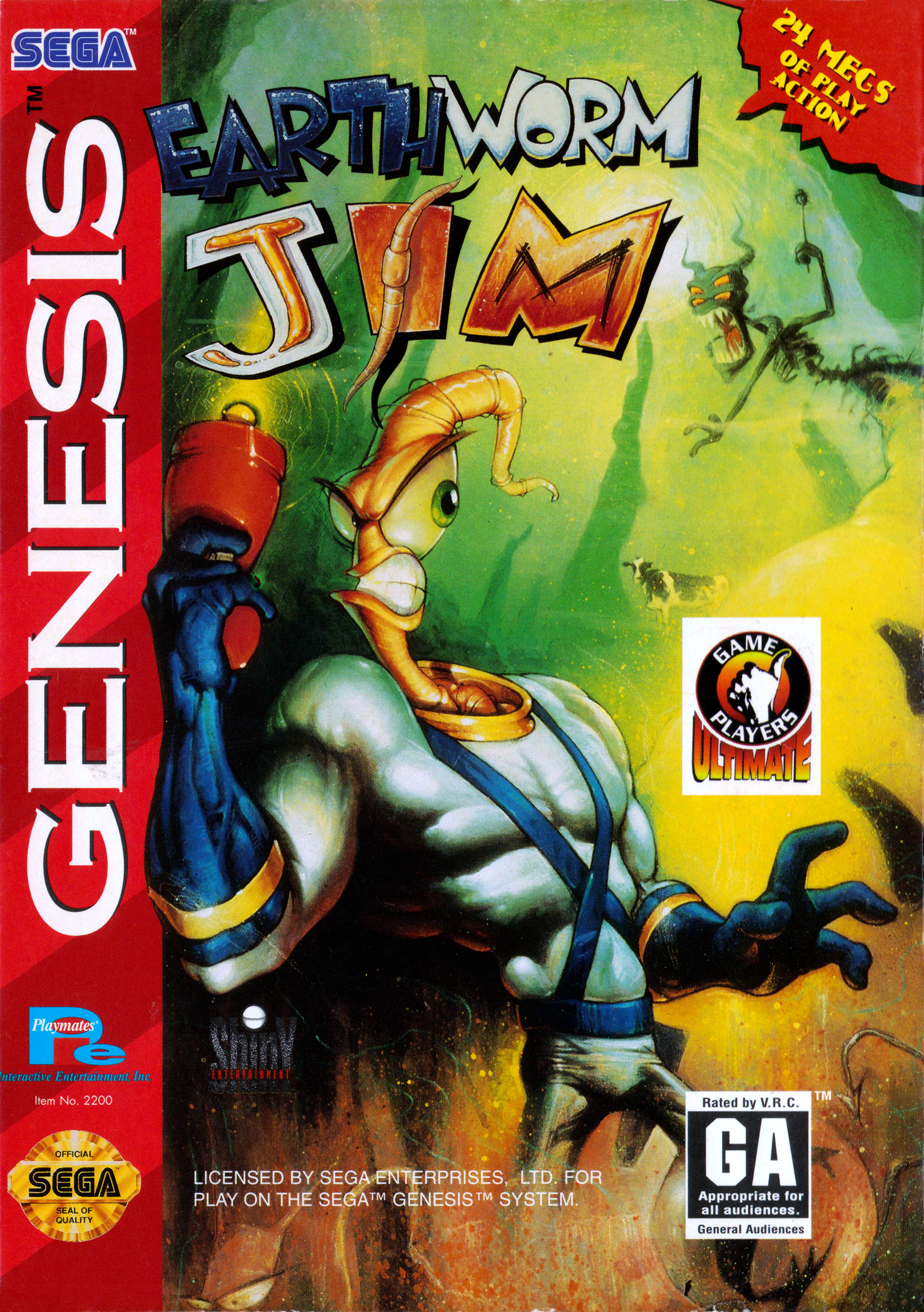 Earthworm Jim / Червяк Дж...