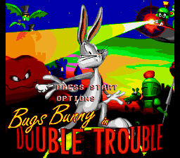 Bugs Bunny In Double Trou...