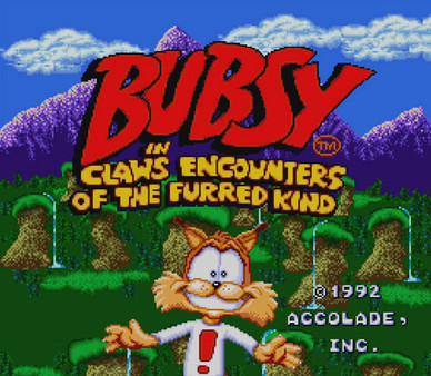 Bubsy in Claws Encounters...
