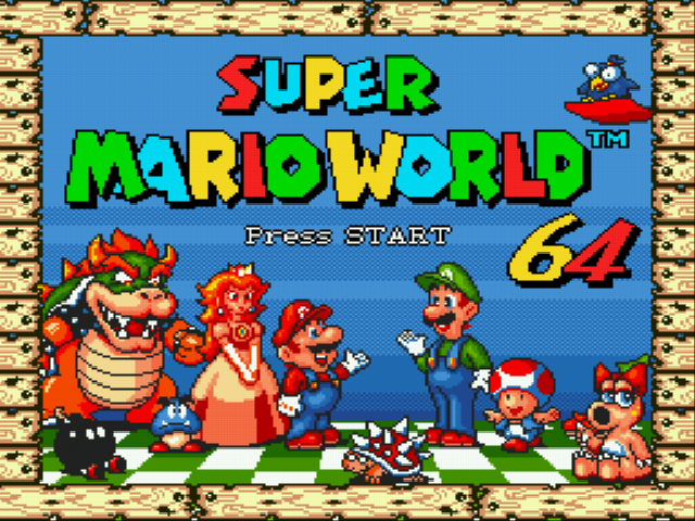 Super Mario World / Мир с...