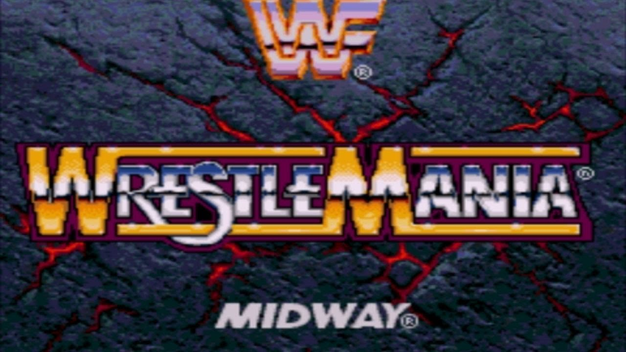 постер WWF WrestleMania: The Arcade Game