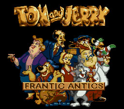 Tom and Jerry Frantic An...